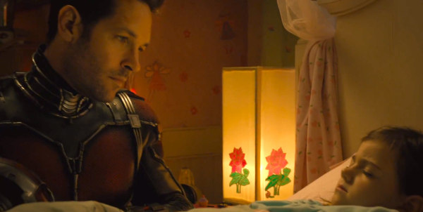 Antman Scott Lang and Cassie