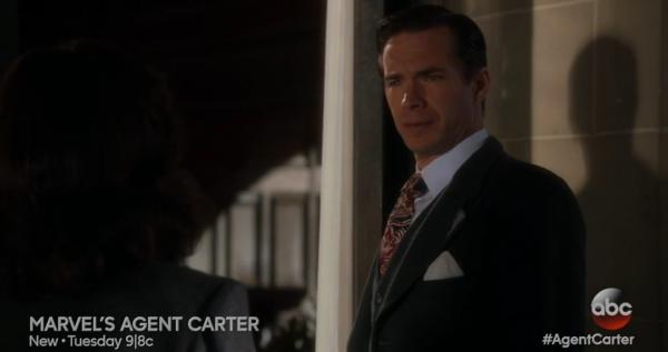 Edmund Jarvis Agent Carter
