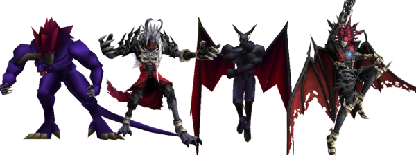 The Evolution of Limit Breaks (Galian Beast & Chaos respectively) From Final Fantasy VII (1997) to Dirge of Cerberus (2006)