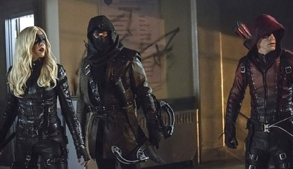 Arrow Uprising Black Canary, Dark Archer, Arsenal