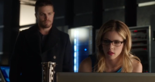 Arrow The Offer Oliver Felicity