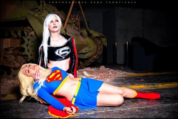 Evil SuperGirl LadyLemon Cosplay Glory