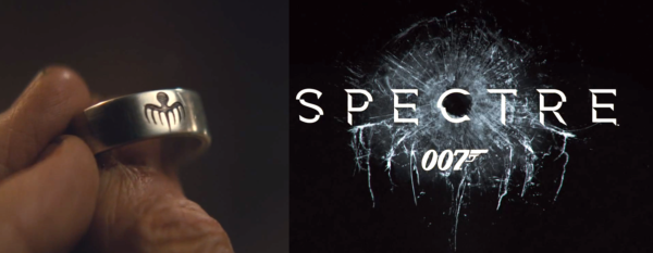The shattered glass for the Spectre Film even resembles the 7 tipped Octopus symbol for Spectre / Blofeld
