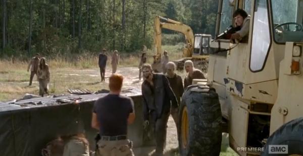 Walking Dead Spend Abraham
