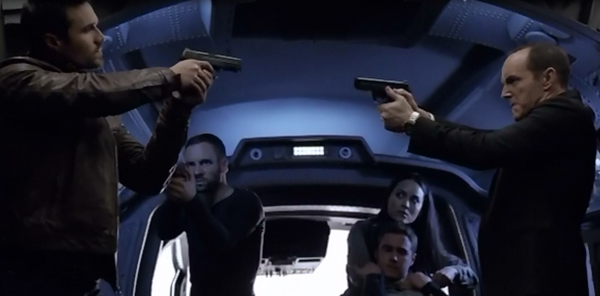 Agents of SHIELD Frenemy of My Enemy Standoff