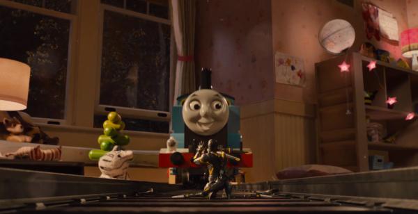 AntMan Trailer Train