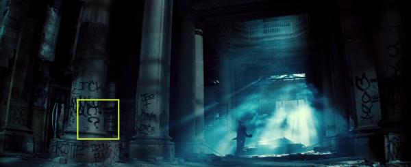 Batman V Superman Riddler Symbol