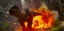 Indominus Rex pulling off his best Nicholas Cage impression