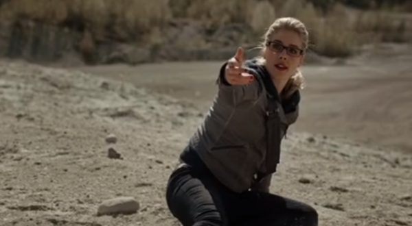 Arrow This Is Your Sword Felicity Throw