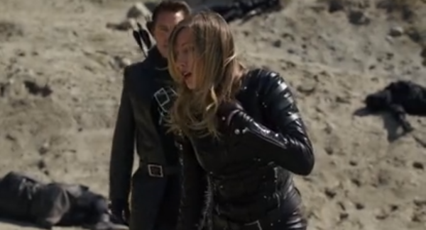 Arrow This Is Your Sword Malcolm saves Laurel