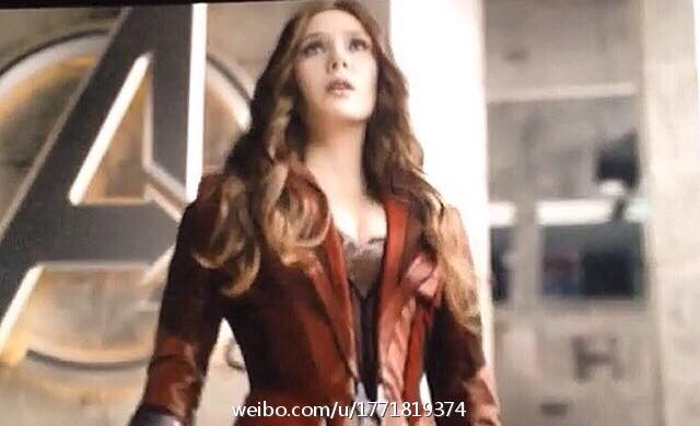Avengers Age Of Ultron New Scarlet Witch Costume 2  The