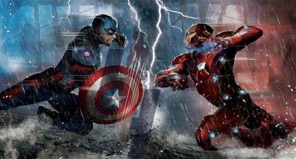 Civil War Concept Art