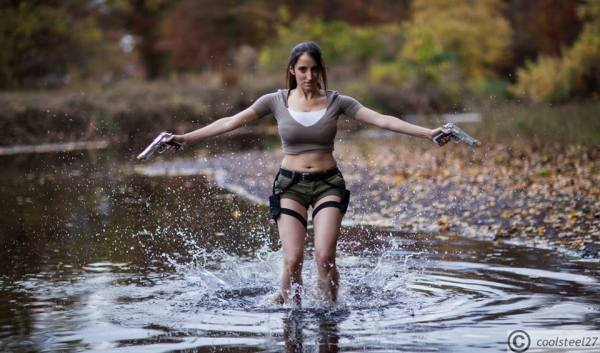 Its A Me Cosplay Lara Croft