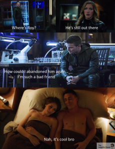 No Worries - Arrow Meme