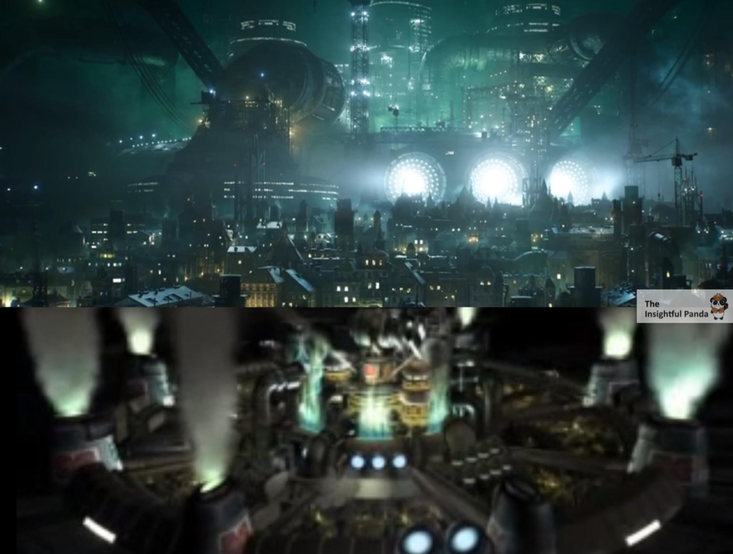 final fantasy vii remake comparison essay