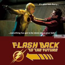 Flash Back To The Future Meme