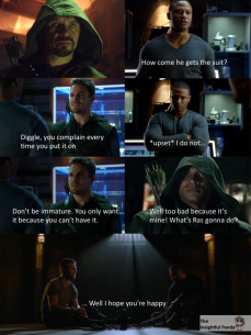 Diggle's Jealous Arrow Meme