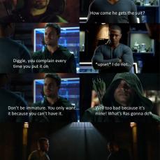 Diggle's Jealous Arrow Meme