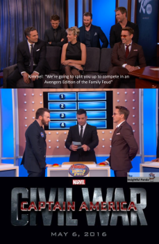 Jimmy Kimmel starts Civil War Meme