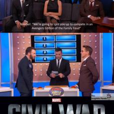 Jimmy Kimmel starts Civil War Meme