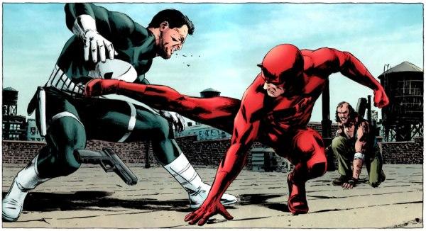 Punisher vs Daredevil
