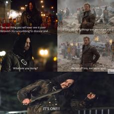 Arrow Season Finale Guardians of The Galaxy Dance Off Meme
