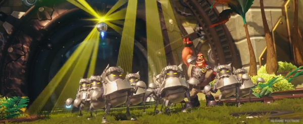 Ratchet & Clank Reboot Groovitron