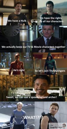Marvel DC Memes