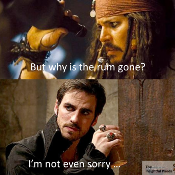 Once Upon A Time… I Liked Rum Meme