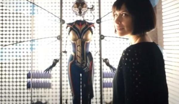 Ant-Man Post Credits Wasp
