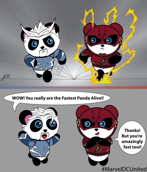 Flash Quicksilver Panda Contest