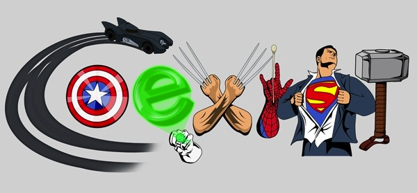 Marvel DC Coexist