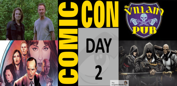 SDCC 2015 Highlights Day 2 Friday