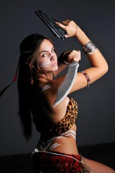 Sheva Alomar (Tribal Skin) - Resident Evil 5