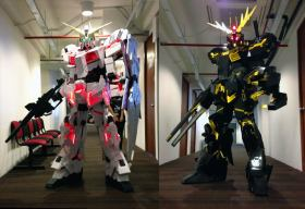 Clive Lee Cosplay Gundam Unicorn