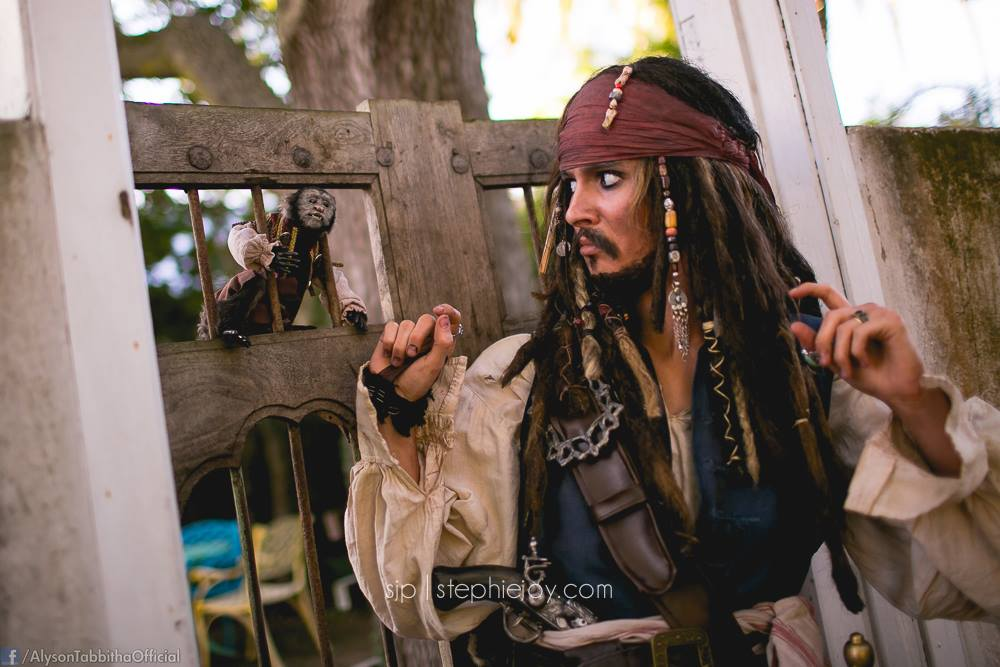 Jack Sparrow cosplay by Alyson Tabbitha