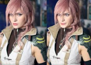 Alyson Tabbitha Cosplay Lightning