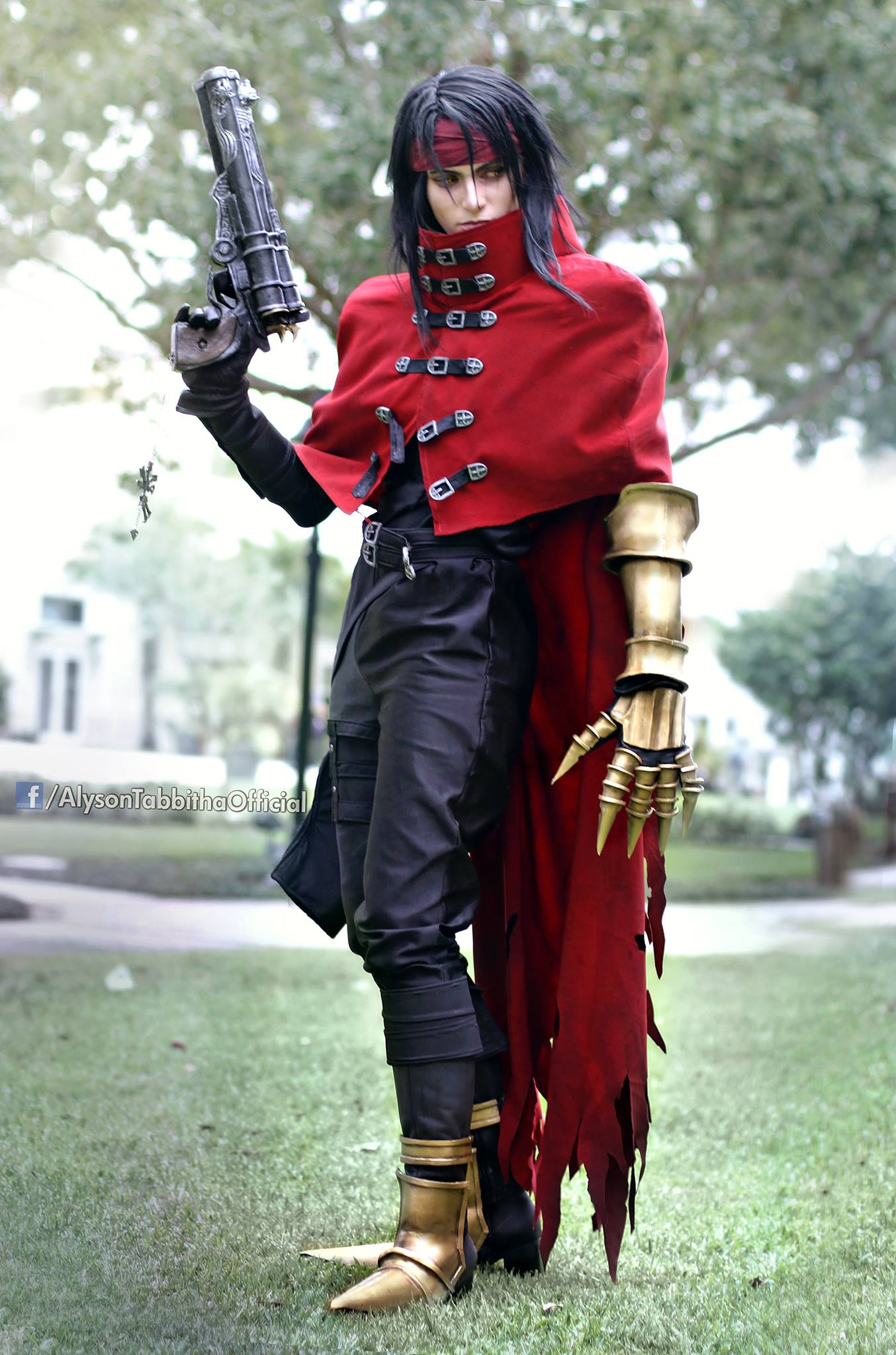 Alyson Tabbitha Cosplay Vincent Valentine The Insightful Panda