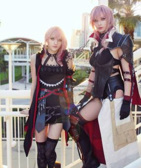 Alyson Tabbitha Madison Kate Cosplay Lightning Lumina