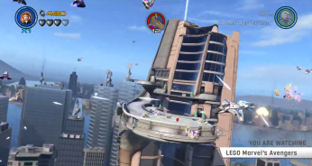 LEGO Avengers Dual Level Co-Op Boss Battles