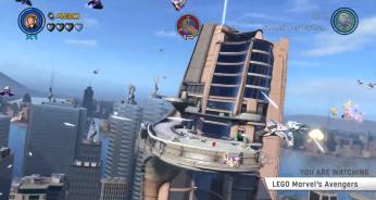 LEGO Avengers Dual Level Co-Op Boss Battles