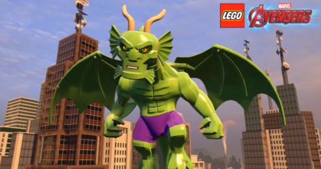 LEGO Avengers Fing Fang Foom