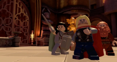 LEGO Avengers Thor Lady Siff Warriors Three