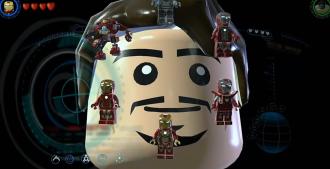 LEGO Avengers Tonys Suit HUD