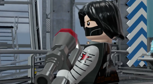 LEGO Avengers Winter Solider Story