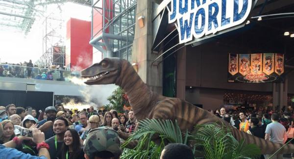 NYCC Jurassic World Gate