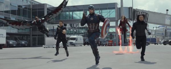 Captain America Civil War Teaser Trailer Team Cap Scarlet Witch 2