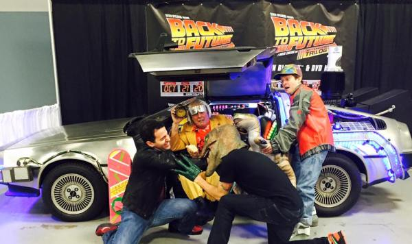 NJ Comic Expo Jurassic Party Back To The Future