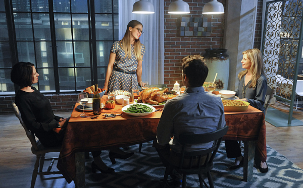 And you thought you were going to have an awkward Thanksgiving Dinner lol