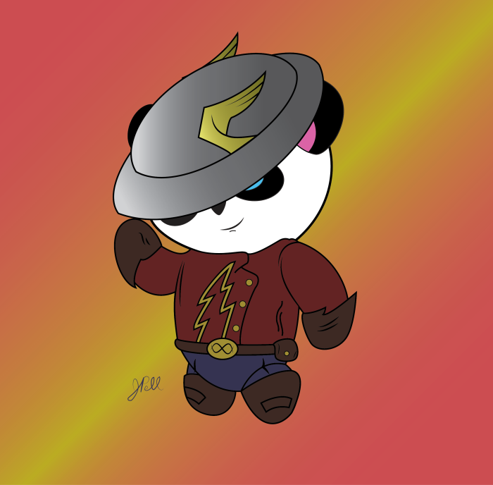 Jay Garrick - Panda Age Flash